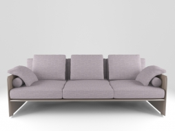 Трехместный диван Minotti sofa - luggage 3x