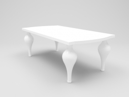Dining table for six persons in the art Deco style FB.DT.PL.57