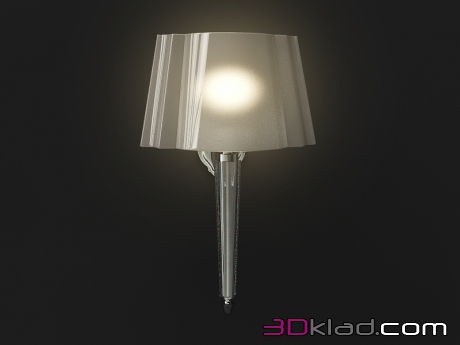 3d model Wall lamp for home bathroom Crystal Devon & Devon