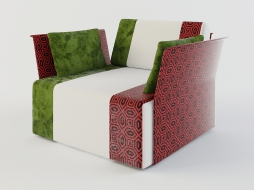 chair from the collection of Sushi with armrests download