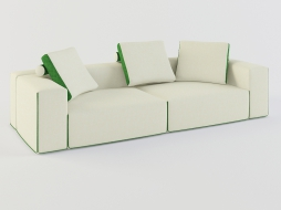 light modular sofa with cushions Field download