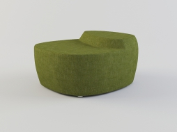 rounded green pouf upholstery textiles of saruyama of Islands download