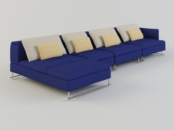 corner modular sofa with metal legs upholstery fabric Shanghai Tip download