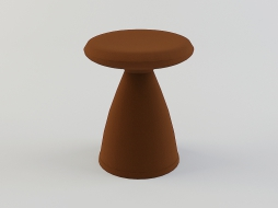 small round stool Shitake download