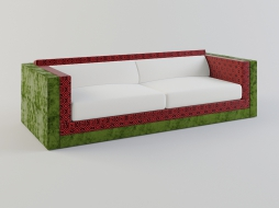 bright sofa in textile upholstery Karmacoma collection of Sushi download