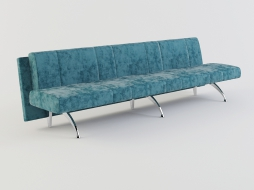 long sofa-bench without armrests Waiting to download