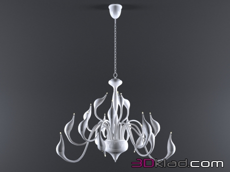 3d model Chandelier CIGNO COLLO 751186 Lightstar