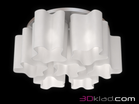 3d model Chandelier NUBI 802070 Lightstar