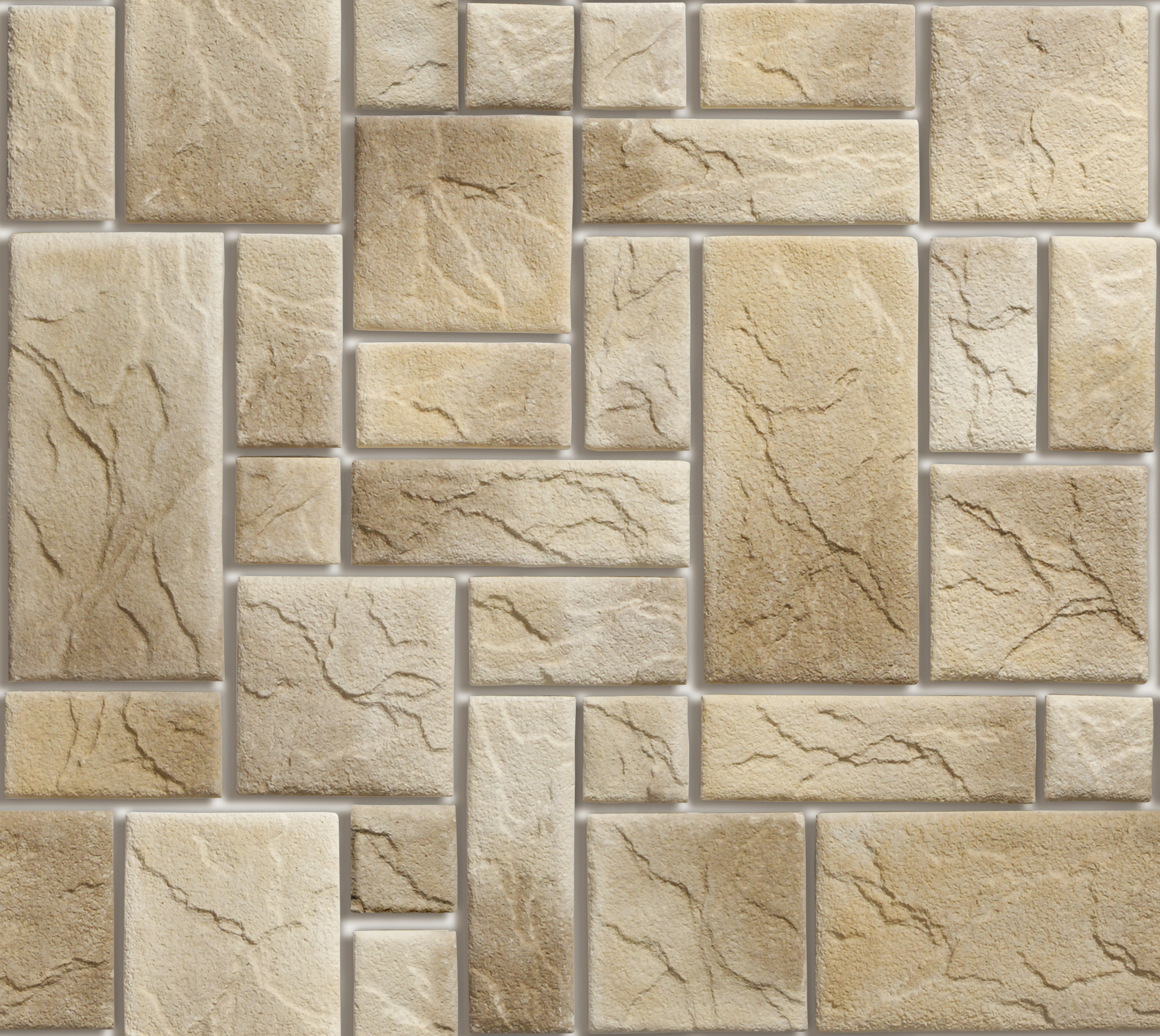 Seamless Texture Of Decorative Stone Malta 114