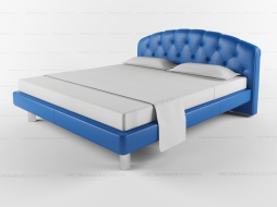 Letto Lord Poltrona Frau.Bed 3d Models