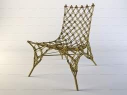 плетенное кресло Knotted Chair