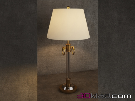 3d модель Table Lamp TL040-1-BRS Gramercy home