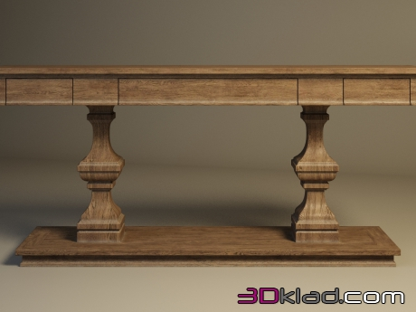 3d модель Cherbourg Console Table 512.004 Gramercy home