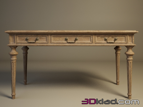 3d модель Clarke Desk 302.004 Gramercy home