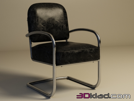 3d модель кресло YORK CHAIR 441.006 Gramercy home