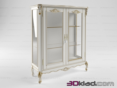 3d model small showcase BN 8806 Cavio