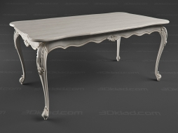 carved table BN 8826