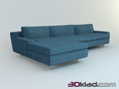 3d модель Sofa Chicago_corner Il Loft