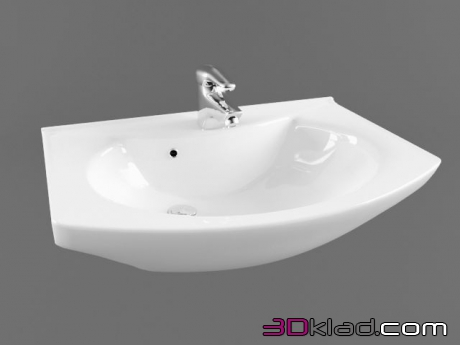 3d model the Lotos Washbasin 531 Lotos