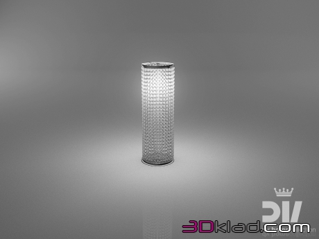 3d модель ALLEN lamp tavolo 60x20 Dv home collection