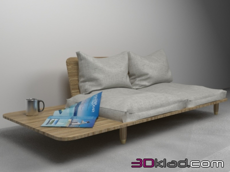 3d модель sofa Laluz Laluz Home Master Co