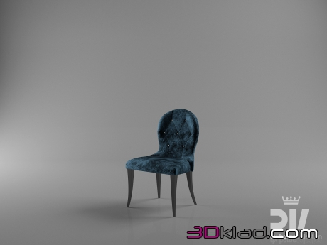 3d модель Nobility chair Dv home collection