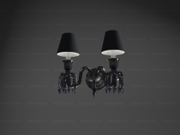 Wall lamp Zenith wall unit 2L Black_crystal 2 106 002