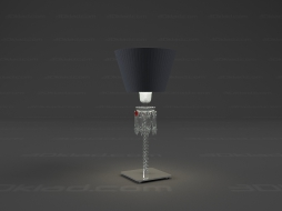 Table lamp Torch lamp Black lampshade 2 603 386