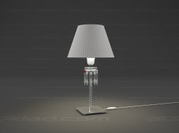 'Table lamp Torch lamp White lampshade 2 601 567