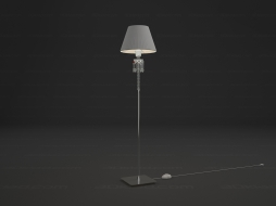 Торшер Torch Small Floor lamp White lampshade 2 604 550