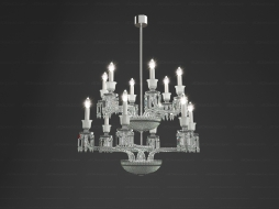 TOURBILLON Chandelier 12L