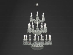 TOURBILLON Chandelier 34L