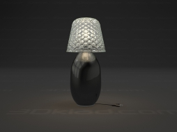Table lamp Candy Light baby lamp Black