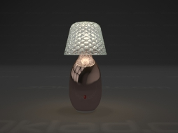 Candy Table lamp Light Lampe a poser Copper