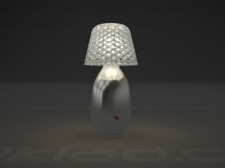 Candy Table lamp Light Lampe a poser Platinum