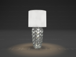 Table lamp 1L Heritage Lampe Diamant