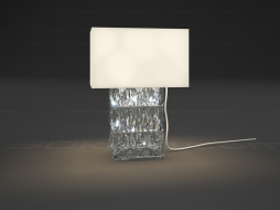 Table lamp 1L Lampe Heritage Louxor
