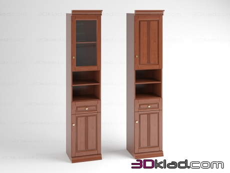3d model cabinets 3841-31-32 Klose