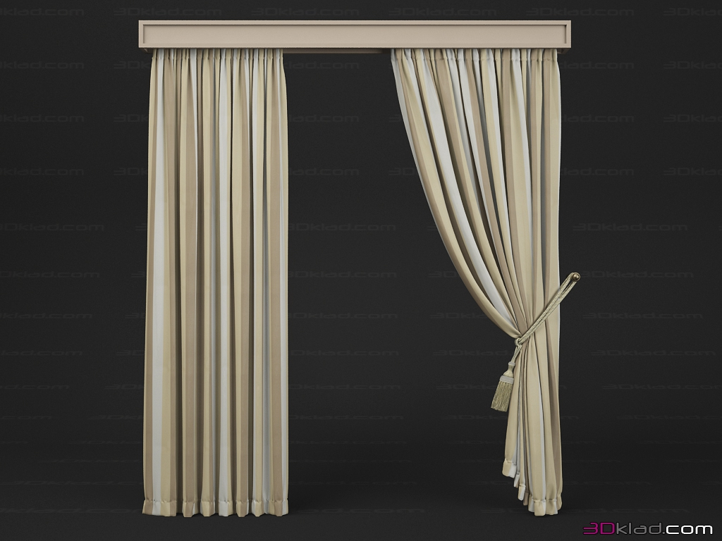 3d Model Blind Classic Smooth And With The Wings Неизвестный