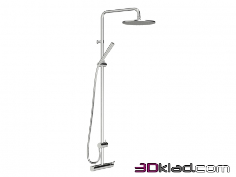 3d модель Inxx Shower System Kit 160 c/c Mora