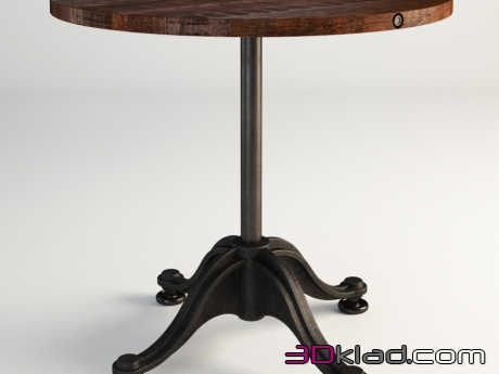 3d модель COLLETE TABLE 521.029 Gramercy home