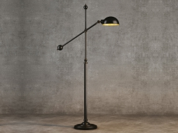INDUSTRIAL JOINT FLOOR LAMP FL016-1-ABG