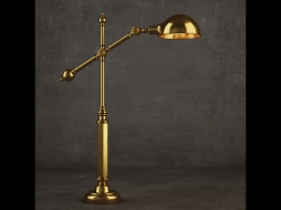INDUSTRIAL JOINT TABLE LAMP TL016-1-BRS