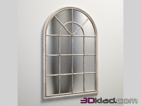 3d модель RUSTY MASTIC DOOR FRAME MIRROR 1/6-0093 Gramercy home