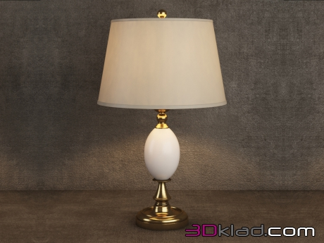 3d модель SOPHIE TABLE LAMP TL018-1-BRS Gramercy home