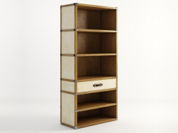 VELLUM TRUNK BOOKCASE MN2110