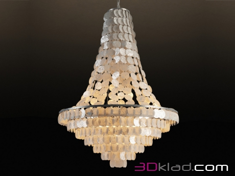 3d модель WILLIE CHANDELIER CH079-5 Gramercy home