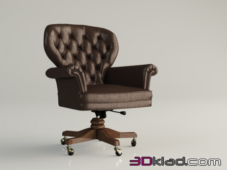 3d model office chair 219 AR arredamenti