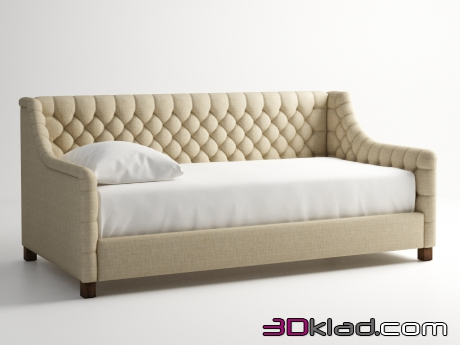 3d модель диван FRANKLIN DAYBED 005.001 Gramercy home