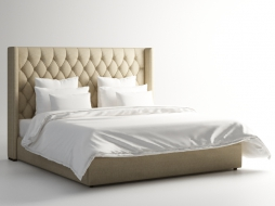 кровать MANHATTAN KING SIZE BED 201.001-F01